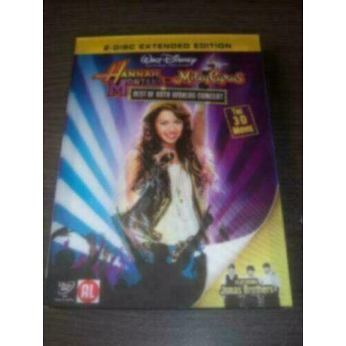 Hannah Montana en Miley Cyrus (3-D) 2-disc in nieuwstaat