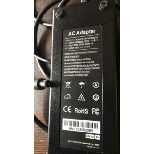 Adapter Voeding 19v 6.67A (lager kan ook) cp150