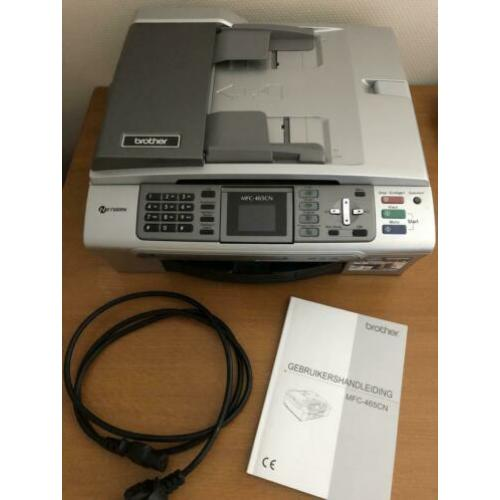 Goedwerkende Brother kleuren netwerkprinter MFC-465CN