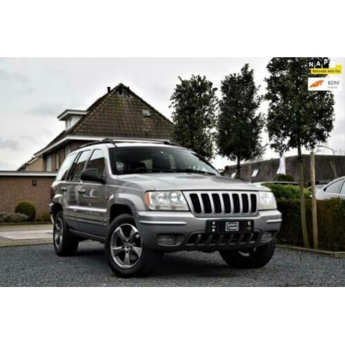 Jeep Grand Cherokee 4.7i V8 Limited Automaat Yountimer Leder