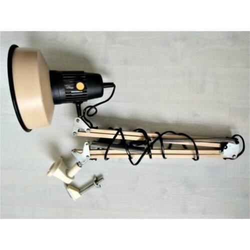 vintage architectenlamp,wandlamp of als tafellamp