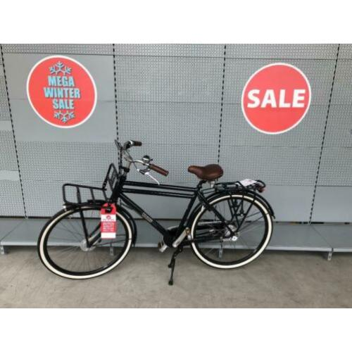transport fiets heren Grande Plus Nex7 H51 NightBlue zwart