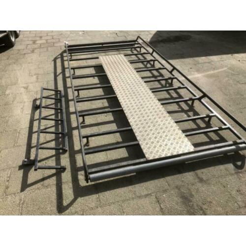 Imperiaal mb sprinter, vw crafter inclusief trap/ladder