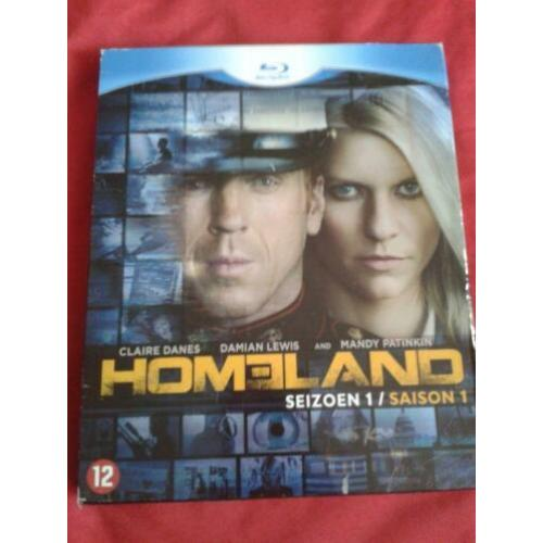 homeland seizoen 1 blue-ray