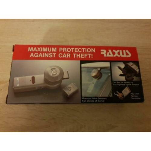 Raxus portable vehicle security..