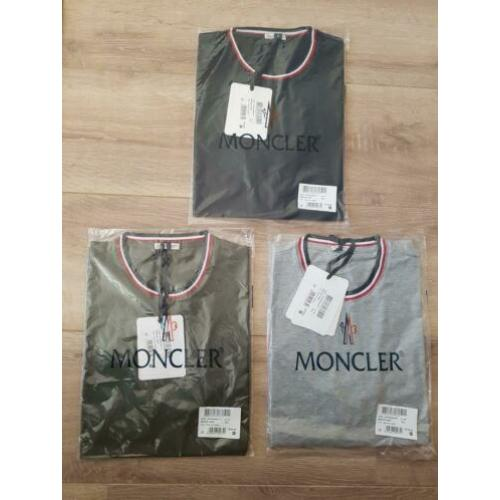 Moncler T-shirts Model 2020 S t/m XXL HOOGSTE-KWALITEIT