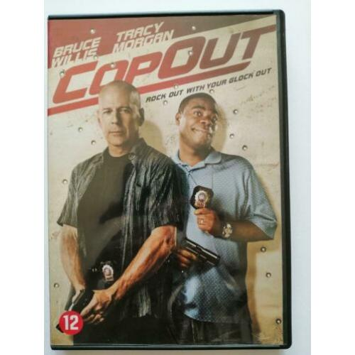 DVD - Copout ( Bruce Willis , Tracy Morgan ) cop out