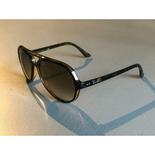 Z.G.A.N. Ray-ban rb4125 cats 5000 classic COMPLEET