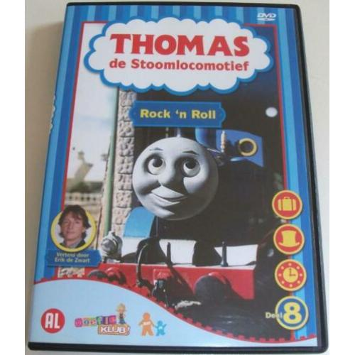 Dvd *** THOMAS DE STOOMLOCOMOTIEF *** Deel 8: Rock 'n Roll