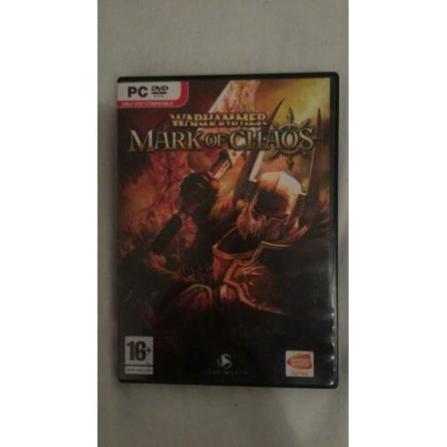 Pc dvd game Mark of Chaos