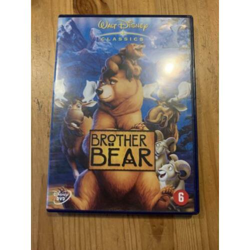 Dvd Brother bear walt Disney classics tekenfilm