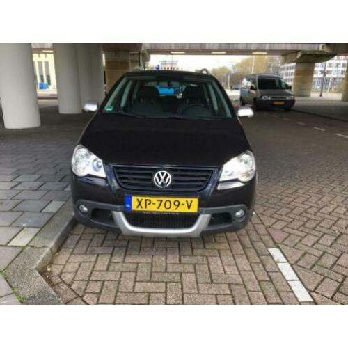Volkswagen Polo 1.2 51KW 5D Cross 2009 Zwart