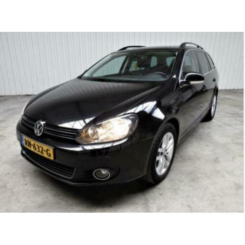 Volkswagen Golf 1.6 TDI Variant DSG7 2012 Zwart Full Options