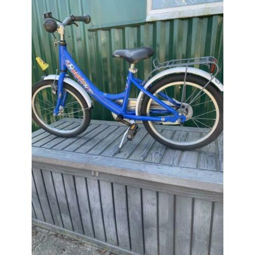 18 inch puky voetbal kinderfiets.